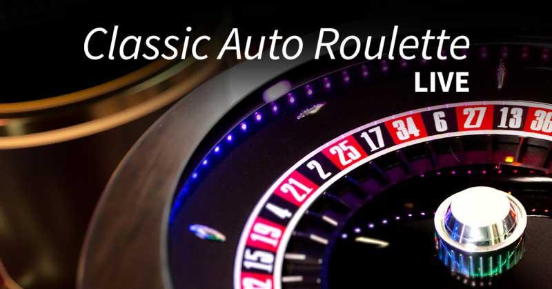 Classic Live Auto Roulette