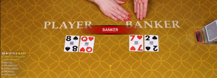 Live Baccarat speed