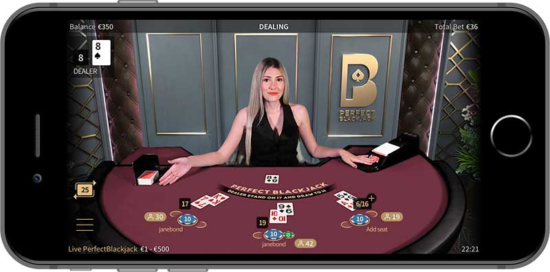 Live Blackjack Perfect NetEnt